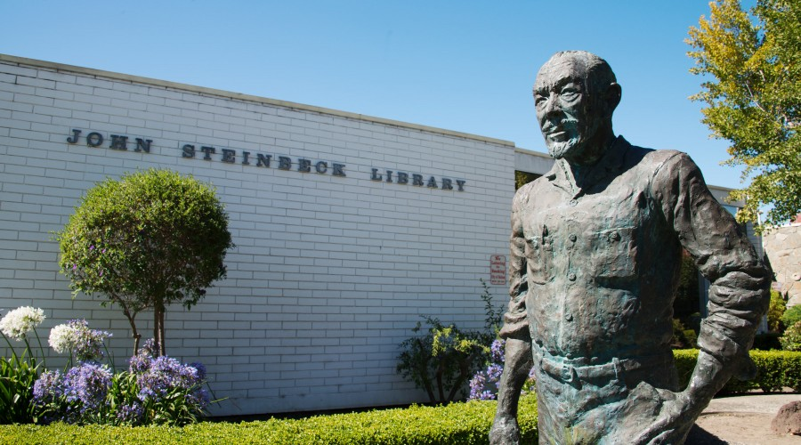 The Steinbeck Library Exterior
