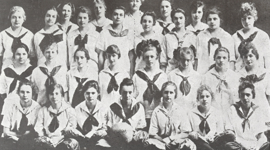 SPL-Girls Basketball TEam 1917