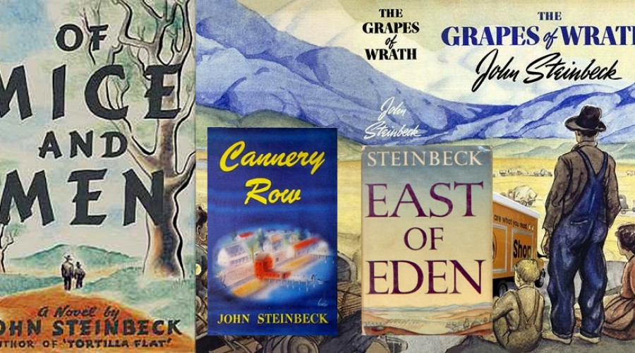 Steinbeck Book Covers