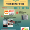 Teen Read Week Flyer
