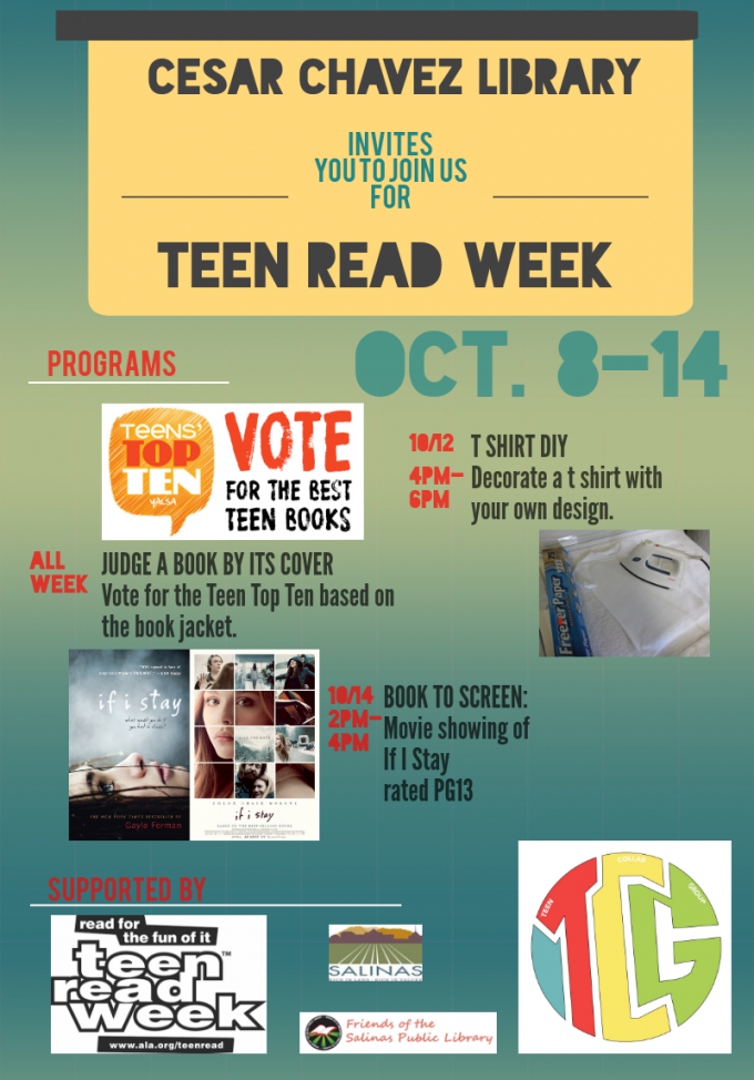 Teen Read Week Flyer