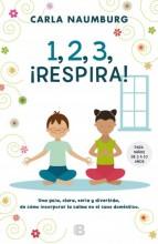 1, 2, 3, respira! : , para niños de 3 a 10 años / cover image