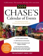 Chase's calendar of events, 2019 /  cover image
