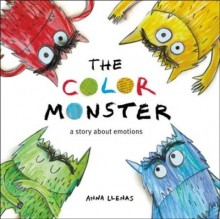 The Color Monster: A Story about Emotions  cover image