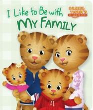 Daniel Tiger's Neighborhood : I like to be with my family   cover image