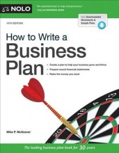 How to write a business plan /  cover image