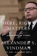 Here, right matters :       an American story /       cover image