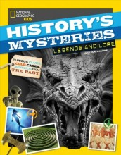 History's mysteries : , legend and lore : curious clues, cold cases, and puzzles from the past / cover image