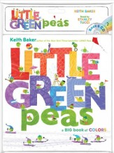 Little green peas :       a big book of colors /       cover image