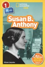 National geographic readers : , Susan B. Anthony / cover image