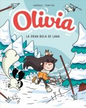 Olivia Y La Gran Bola de Lana / Olivia and the Great Big Ball of Wool        cover image