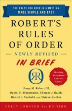 Robert's Rules of Order Newly Revised in Brief, 3rd Edition (Revised)        cover image