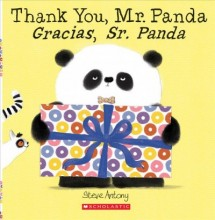 Thank You, Mr. Panda / Gracias, Sr. Panda (Bilingual)  cover image