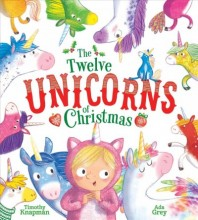 The Twelve Unicorns of Christmas        cover image