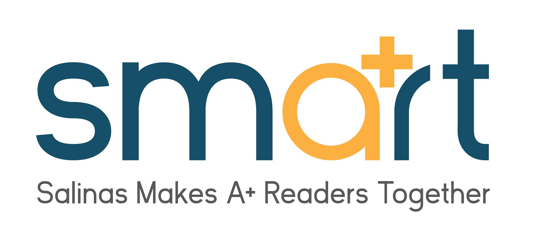 Smart Card logo - Salinas Makes A+ Readers Together