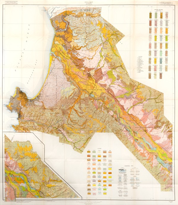USDA 1925 Soil Map for the Salinas Area
