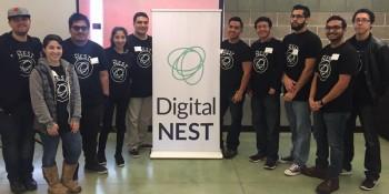 Digital Nest students